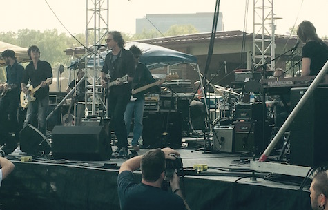 The Jayhawks at the Maha Music Festival, 8/15/15.