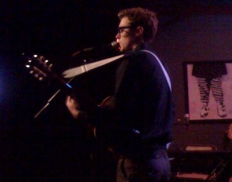 Jeremy Messersmith at Slowdown Jr. in May 2010.