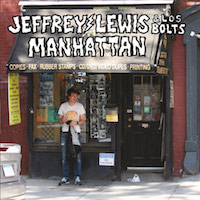 Jeffrey Lewis, Manhattan (2015, Rough Trade)