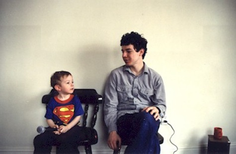 Joe Knap and his son, Neal, circa 2001.
