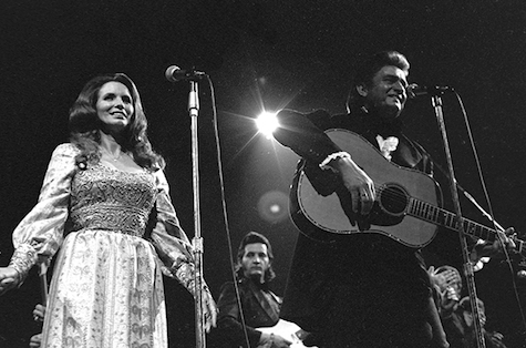 Because I don't have a photo of Conor Oberst and Corina singing at O'Leaver's, here's a photo of Johnny Cash and June Carter Cash.