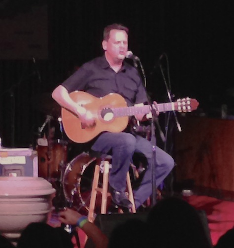 Mark Kozelek at Central Presbyterian Church during SXSW March 15, 2014 . Kozelek plays tonight at Vega in Lincoln