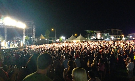 The huge crowd at Maha 2014. Expect an even bigger crowd when the festival kicks off tomorrow at Stinson Park.