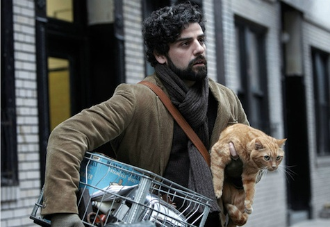 Llewyn Davis and cat on the move again...