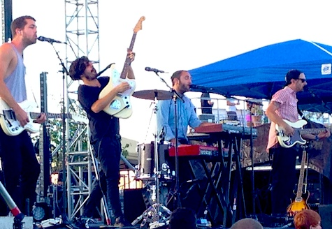 Local Natives got the evening rolling in style.