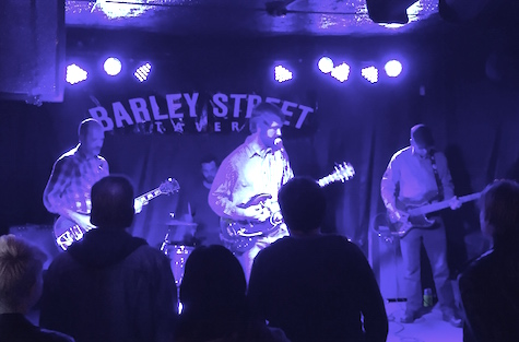 Lupines at The Barley Street Tavern Dec. 5, 2014.