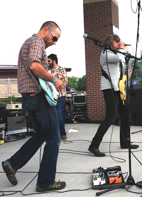 Matt Whipkey and his band launched the local stage.