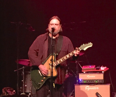 Matthew Sweet center stage at the 1200 Club March 28, 2015. Sweet gave an update on his upcoming album.