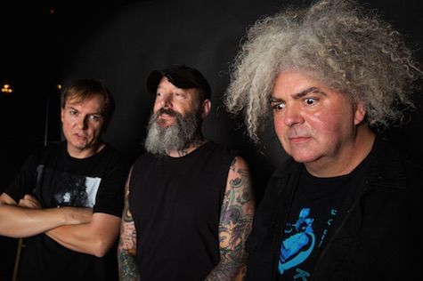 Melvins play tonight at The Waiting Room.