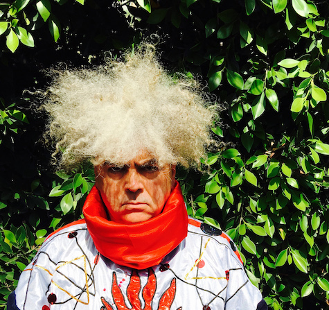Buzz Osborne of Melvins. The band plays The Waiting Room tonight. Photo by Mackie Osborne.