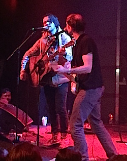 Conor Oberst joined the band for a handful of songs.