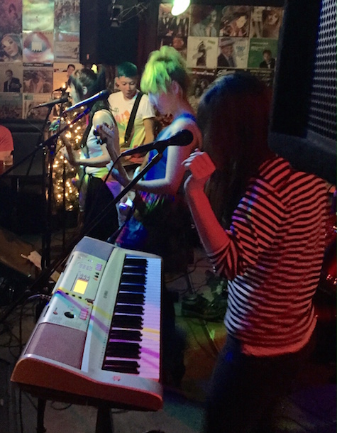 Peach Kelli Pop at O'Leaver's April 10, 2015.