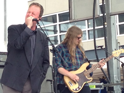 Protomartyr at 2014's South by Southwest Festival. The band plays tonight at Slowdown Jr.