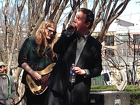 Protomartyr at French Legation Park / Pitchfork Day Party. Among the best thing I've heard so far at this year's SXSW.