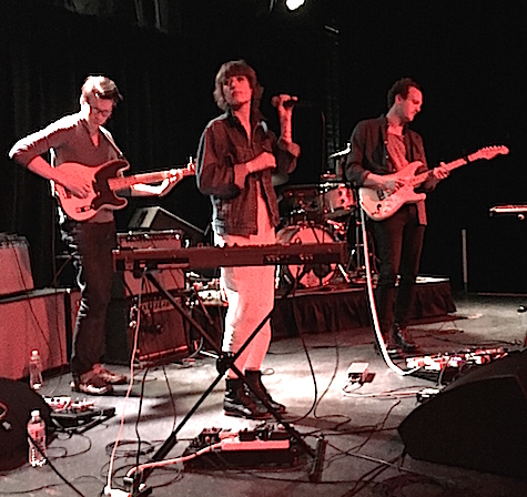 Pure Bathing Culture sans drummer at The Waiting Room Nov. 5, 2014.