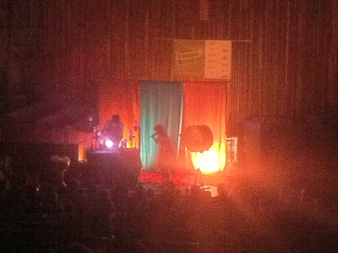 Purity Ring at Central Presbyterian Church, SXSW, March 15, 2012.