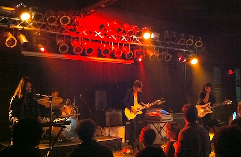 School of Seven Bells at The Waiting Room, Sept. 22, 2010.