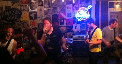 The Shanks at O'Leaver's, June 24, 2011.