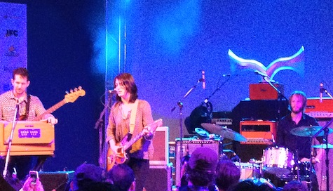 Sharon Van Etten at Stubb's, SXSW, March 14, 2012.