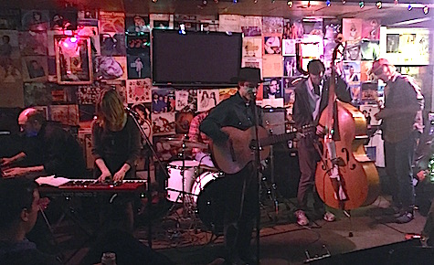 Simon Joyner and The Ghosts at O'Leaver's, Oct. 17, 2014.
