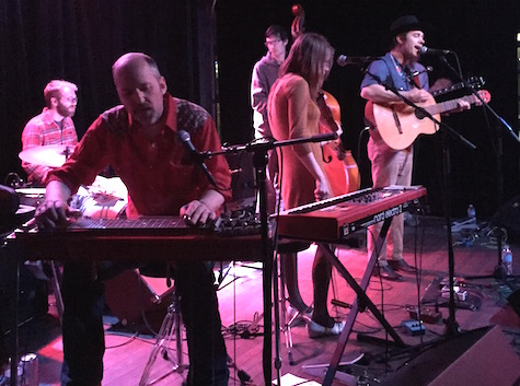 Simon Joyner and The Ghosts at Slowdown Jr., April 4, 2015. The band plays tonight at Slowdown Jr.