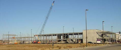 #TBT, The Slowdown complex under construction, Dec. 2, 2006.