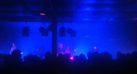 Wild Nothing at Sokol Underground, Sept. 14, 2012.