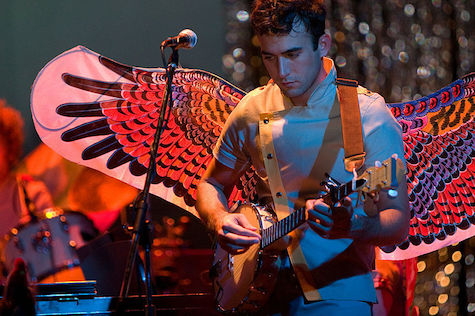 Sufjan Stevens takes flight tonight at The Orpheum Theater.