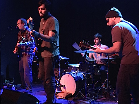 Ted Stevens Unknown Project at Reverb Lounge, Jan. 15, 2015.