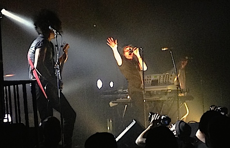 From the floor, The Faint at Sokol Auditorium, June 13, 2014.
