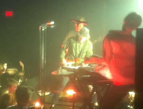 The Faint at The Slowdown, Aug. 18, 2012.