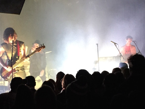 The Faint at The Waiting Room, Dec. 28, 2014.