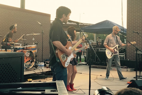 The Good Life at Maha Music Festival, 08/15/15. The band is among those included in The Reader's Top Bands List.