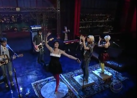 #TBT: Tilly and the Wall on Late Night with David Letterman, Oct. 28, 2006.