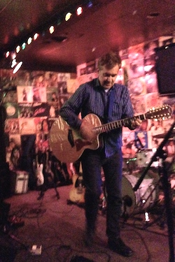 Tommy Keene at O'Leaver's, July 30, 2014.