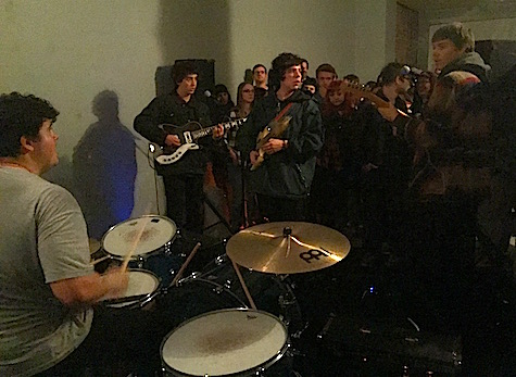 Twin Peaks at Midtown Art Supply, Nov. 25, 2014. The band plays tonight at The Waiting Room.