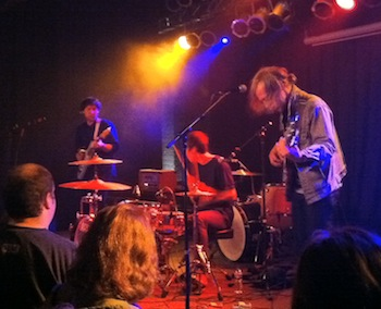 Unknown Mortal Orchestra at The Waiting Room, Feb. 23, 2011.