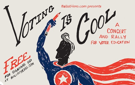 Voting Is Cool, featuring Orenda Fink and Simon Joyner, is Wednesday night at The Slowdown.