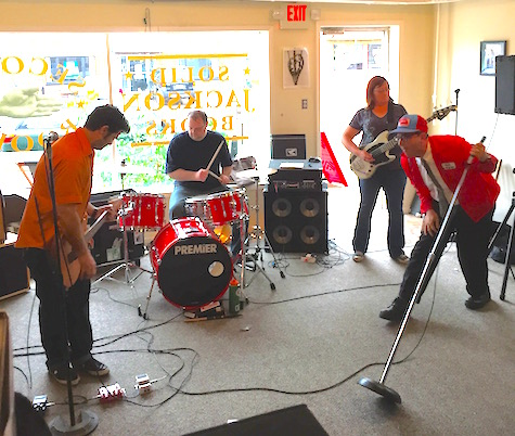Wagon Blasters at Almost Music on Record Store Day, April 18, 2015.