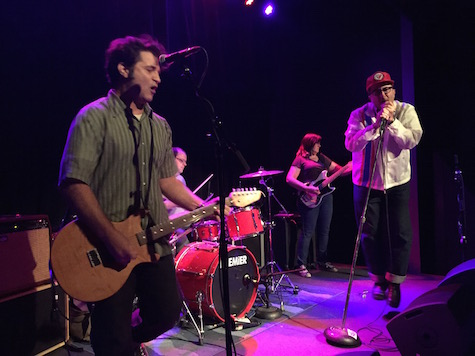 Wagon Blasters at The Reverb June 3, 2015 -- the Big 50 benefit for Hear Nebraska.