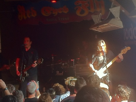 The Wedding Present at Red Eyed Fly, SXSW, March 14, 2012.