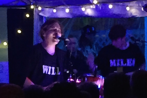 Will Butler at Maggie Mae's Rooftop, March 20, 2015. He plays tonight at The Waiting Room.