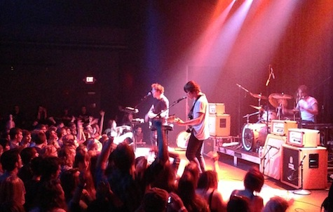 The Wombats at The Slowdown, Sept. 27, 2012.