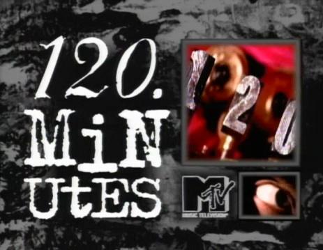 MTV's 120 Minutes logo