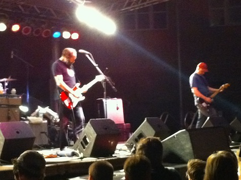 Built to Spill at The Slowdown Block Party, Aug. 27, 2010.