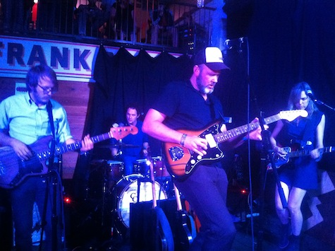 Crooked Fingers at Frank, SXSW, March 16, 2012.