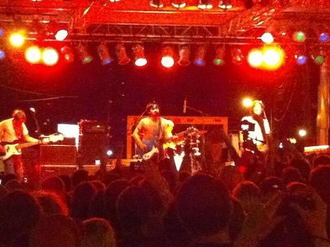 Desaparecidos at The Concert for Equality, 7/31/10.