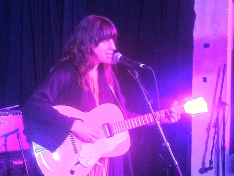 Eleanor Friedberger at Frank, SXSW, March 16, 2012.