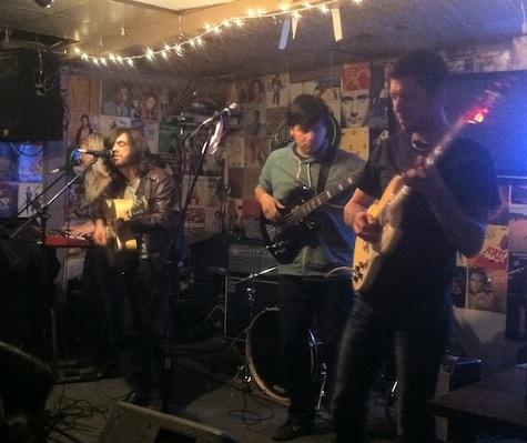 Eli Mardock at O'Leaver's, Jan. 28, 2012.
