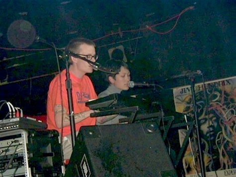 Her Space Holiday at Sokol Underground Oct. 9, 2000.